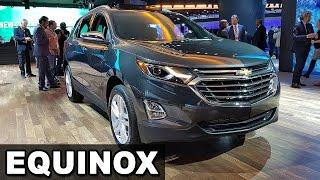 Chevrolet Equinox, Tracker e Traverse no Salão Detroit 2017 - NAIAS