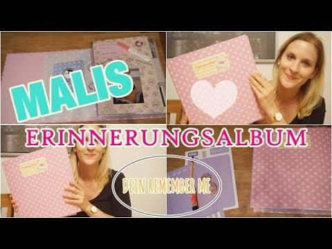 MALIS ERINNERUNGSALBUM | Dein Remember Me | Scrapbook - Fotoalbum fürs Baby | Lisi Schnisi