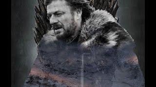 Double Exposure: Eddard Stark ~ Game of Thrones