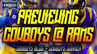 Previewing Dallas Cowboys at Los Angels Rams | NFL Week 1