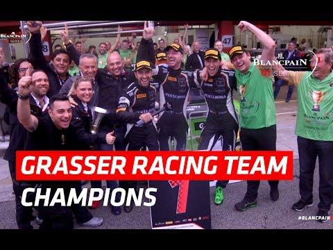 Grasser Racing Team - Champions!! - Blancpain GT Series 2017