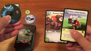 Board Game Reviews Ep #45: MUNCHKIN COLLECTIBLE CARD GAME
