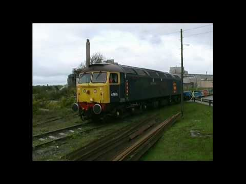 Class 20, 33, 37, 47, 50, 66 and 73 in action in Wales durin…