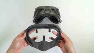 How to install the VR Cover for DJI FPV Goggles