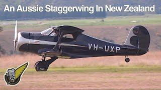 Two Historic Beech Staggerwing Aircraft Restorations at Wanaka