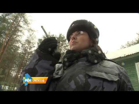 Новости Псков 20.02.2017 # Учения в академии ФСИН
