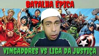 BATALHA ÉPICA -  Vingadores VS liga da Justiça --->Se inscreva-se no meu canal e deixa seu like...