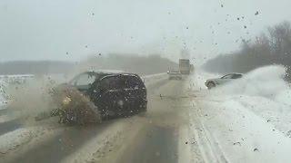 Russian Car crash compilation December ✦ Russian Car crashes