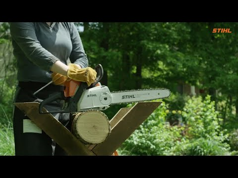 Stihl MS 180 C-BE in Kerrville, Texas - Video 1