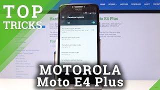 TOP TRICKS MOTOROLA Moto E4 Plus – Tips & Hacks