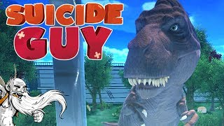 """Suicide Guy Gameplay - """"DEATH BY...DINOSAUR?!?""""  - Let"""