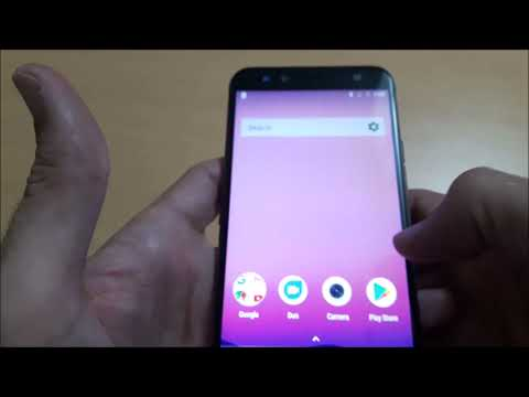 First boot of Smartphone GOME U7 Mini (4GB RAM + 64GB ROM)