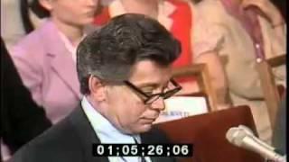Nicodemo Scarfo testifies with attorney Bobby Simone 6/22/82