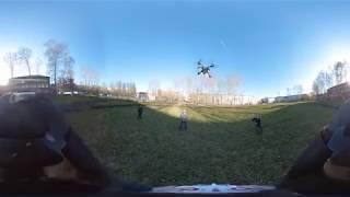 Бюджетный квадрокоптер, видео 360 VR