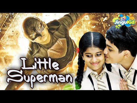 Download Little Superman - New Bollywood Kids Hindi Dubbed Movie | लिटिल सुपरमैन | Action Adventure Comedy HD Mp4 3GP Video and MP3