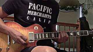 Q-Judas Priest - Delivering the goods (guitar cover)