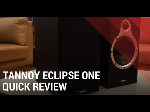 Tannoy Eclipse One Review - Bookshelf Home theater Speakers India