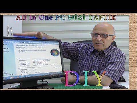 100 BİN ABONEYE ÖZEL KENDİ All In One PC MİZİ YAPTIK.