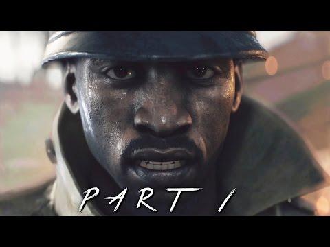 BATTLEFIELD 1 Walkthrough Gameplay Part 1 - Survive (BF1 Campaign)