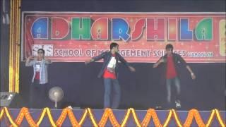 SMS Varanasi 21th Foundationa Day ADHARSHILA 2015 Cultural Programme