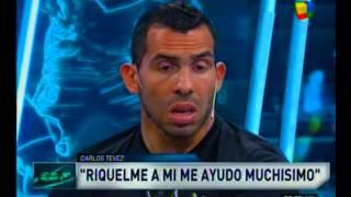 """Román va a ser siempre mi idolo"" Carlos Tevez"
