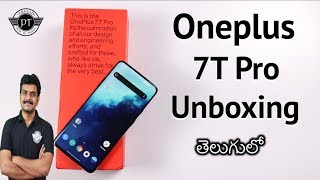 Oneplus 7T Pro Unboxing & initial impressions ll in Telugu ll