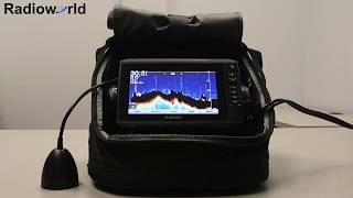 Portable ice fishing fish finder