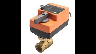 Fast Running Control Ball Valve - 2-Way AC