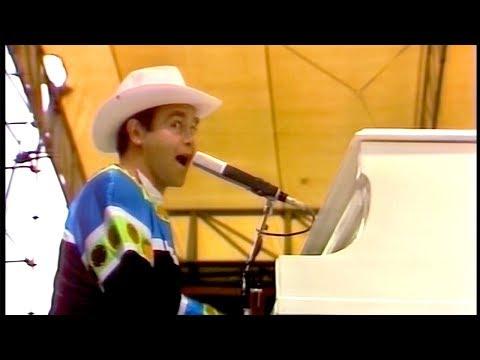 Elton John - Goodbye Yellow Brick Road - Central Park 1980 [60 FPS]