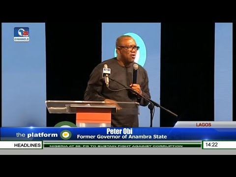 The Platform 2016: Peter Obi Speaks On Developing Nigeria Pt 4