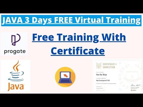 3 Days FREE Virtual Java Training Program with Free Certification ...