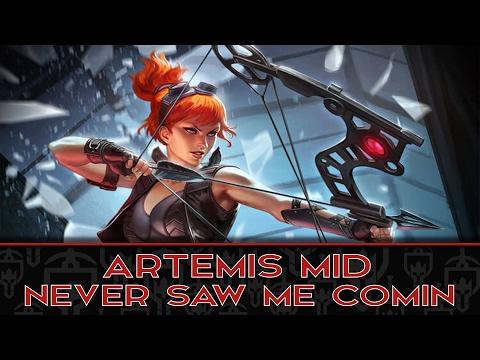 ARTEMIS MID: LATE GAME ARTEMIS IS NONSENSE - Incon - Smite