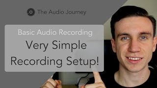 How To Record Audio Easily AND Professionally (3/7)