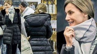La reina Letizia Ortiz no quiso perderse la Feria BioCultura de Productos ecológicos y fue pillada