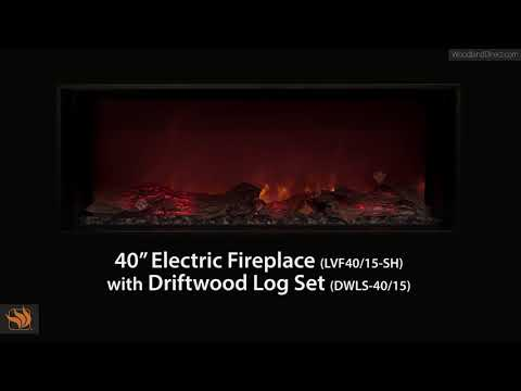 "Modern Flames 40"" Fullview Landscape Fireplace"