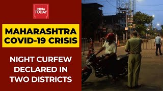 Covid19 News: Maharashtra Govt Declares Night Curfew In Amravati And Yavatmal - Download this Video in MP3, M4A, WEBM, MP4, 3GP