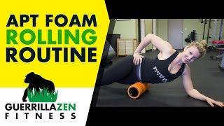 Anterior Pelvic Tilt Foam Rolling Routine by GuerrillaZen Fitness