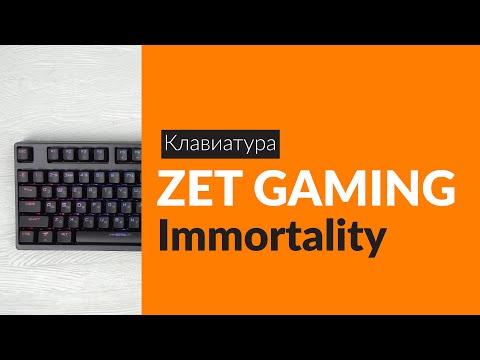 Распаковка клавиатуры ZET GAMING Immortality / Unboxing ZET GAMING Immortality