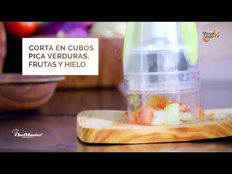Picadora frutas y verduras Chop N Grate Chef Master.