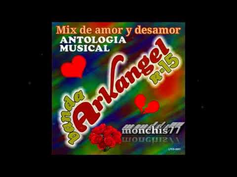 banda arkangel R-15 PURAS ROMANTICAS