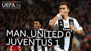MAN. UNITED 0-1 JUVENTUS #UCL HIGHLIGHTS
