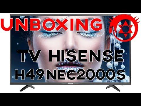 Unboxing TV 49 pollici Hisense H49NEC - Lo Zio