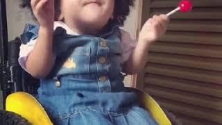 Sobrevivi Sarah Gabriella Cristal Criança Louvando Cheia Do Espirito Veja O Que Acontece