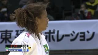 柔道グランドスラムTOKYO2013女子57kg3位決定戦