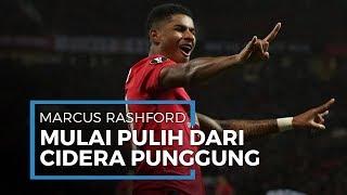 Manchester United Dapat Kabar Baik, Kini Marcus Rashford Mulai Pulih dari Cidera