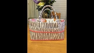 How To Make A Sewing Or Craft  Caddie