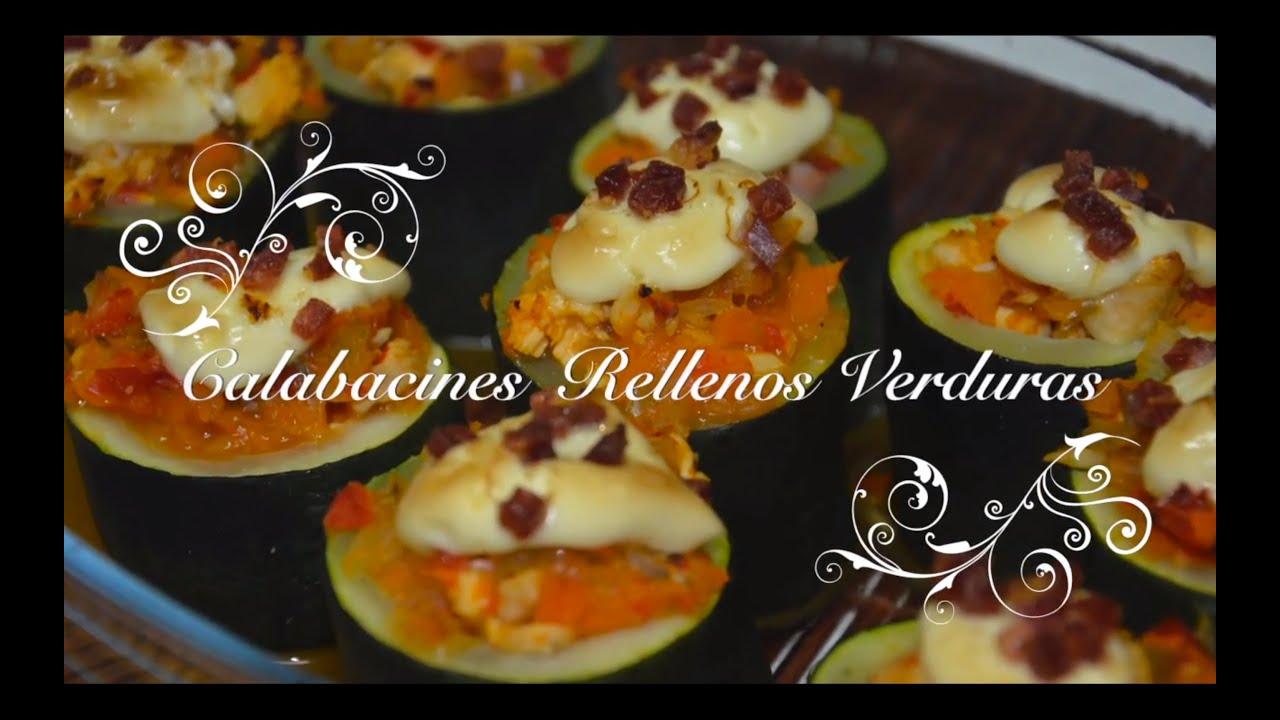 Calabacines rellenos de verduras | Dieta con Thermomix | Recetas Thermomix Dieta | Receta de Dieta