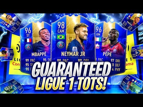 11 x GUARANTEED LIGUE 1 TOTS PACKS! FIFA 19 Ultimate Team