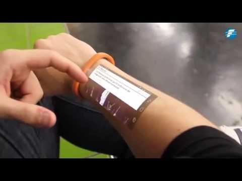Ahora tu smartphone podrás manejarlo desde el brazo mediante una pulsera -01/12/2014