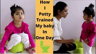Potty Training in a day (Hindi) | How to potty train your baby